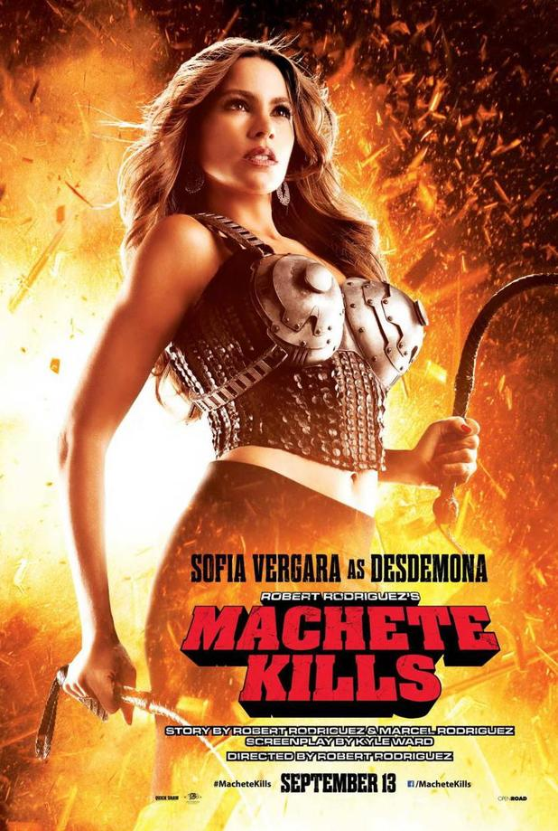 Sofia Vergara in 'Machete Kills' poster