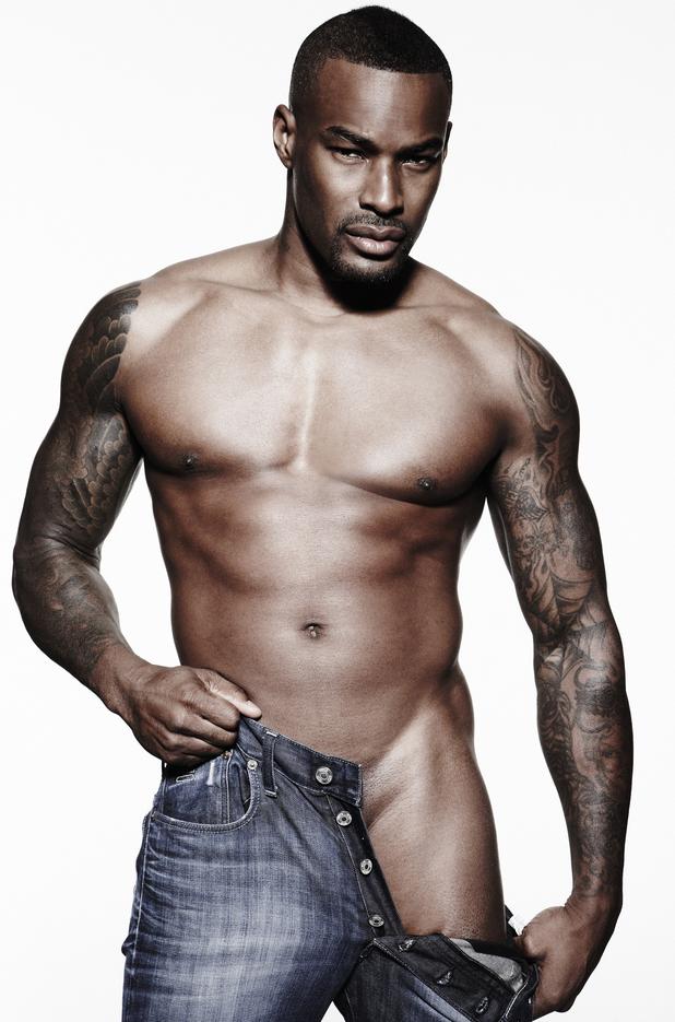Tyson Beckford, America's Next Top Model, shirtless, gay spy, cosmopolitan