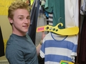 A look behind the scenes at Ben Hardy's first day on set at EastEnders.