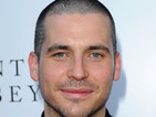 Rob James-Collier replaces his former floppy locks with a short buzz cut.