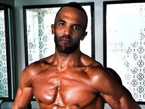 Craig David, exercising, six pack, instagram