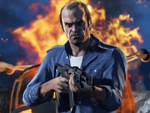 Grand Theft Auto 5 will be available on PS3 and Xbox 360 in September.
