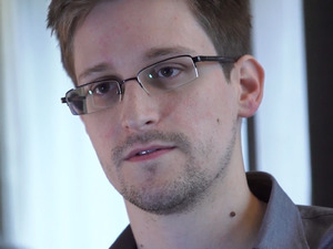Ex-CIA worker & NSA whistleblower Edward Snowden