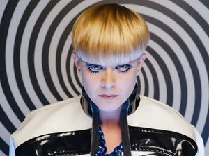 Robyn in The Lonely Island's 'Go Kindergarten' music video.