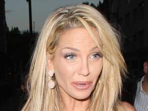 Sarah Harding, Scott's restaurant, London