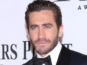 Jake Gyllenhaal arriving at the 67th Annual Tony Awards in New York