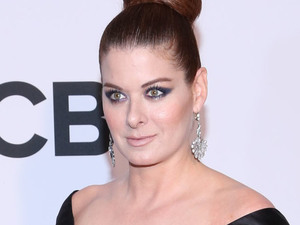 Debra Messing arriving at the 67th Annual Tony Awards in New York