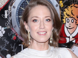Carrie Coon arriving at the 67th Annual Tony Awards in New York