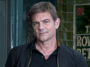John Michie as Karl Munro in Coronation Street