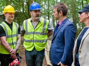 The Foreman discover possible body parts at the site but will Declan do what is morally right, or cover it up?