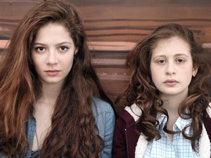 Jenna Thiam as Lena & Yara Pilartz as Camille in 'The Returned'