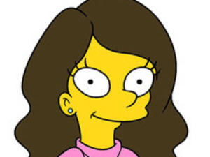Eva Longoria's character in 'The Simpsons'