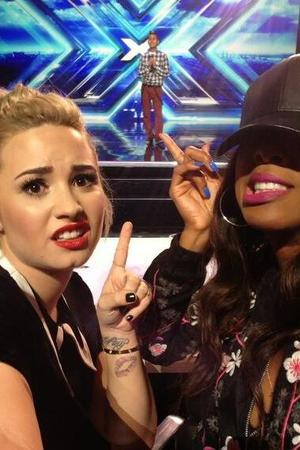 Demi Lovato and Kelly Rowland are unimpressed by an X Factor USA auditionee