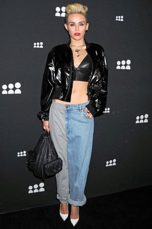 Miley Cyrus, This Is MySpace Event, Los Angeles, America - 12 Jun 2013