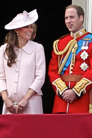 Kate Middleton at Trooping the Colour 2013.