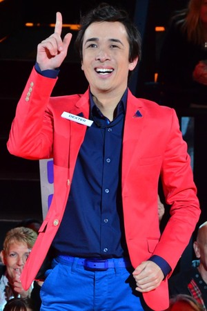 Dexter Koh enters the Big Brother house