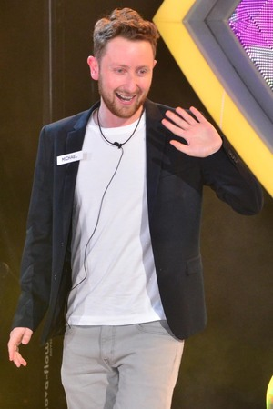 Michael enters the Big Brother house