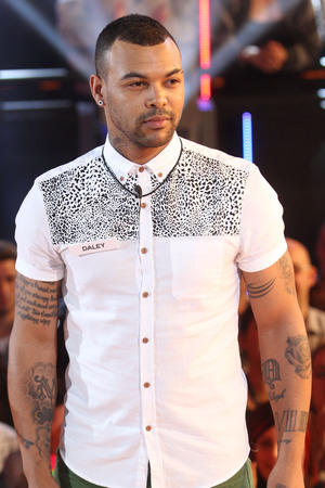 Daley Ojuederie enters the Big Brother house