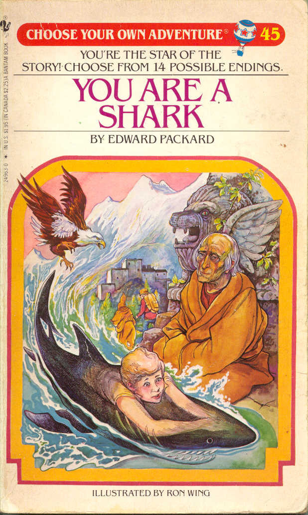 'Choose Your Own Adventure' book cover