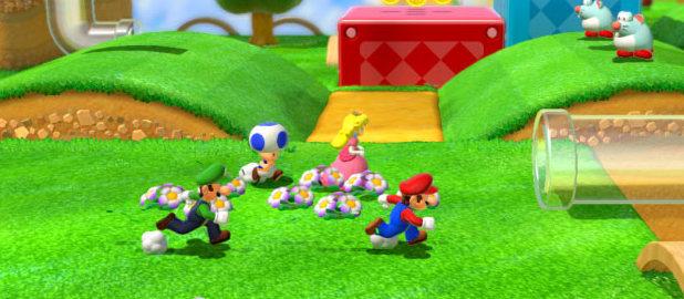 'Super Mario 3D World' screenshot