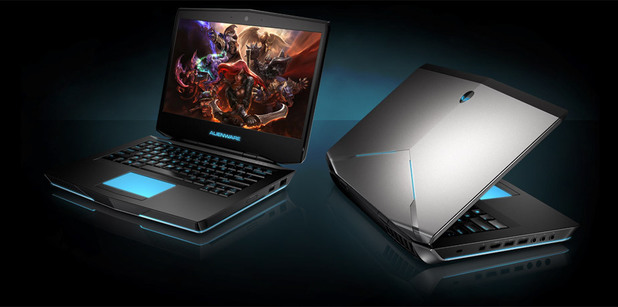 The Alienware 14 gaming laptop