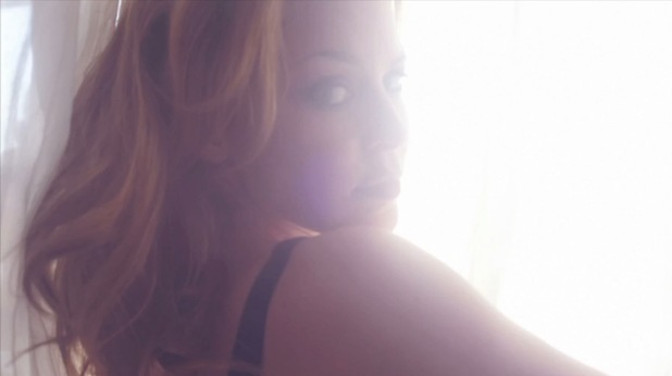 Kylie Minogue in 'Skirt' music video.