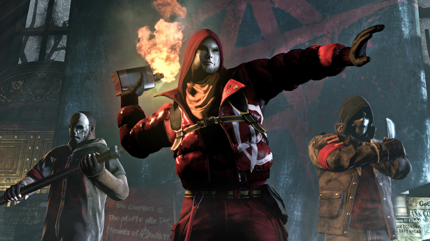 'Batman Arkham Origins' E3 screenshot
