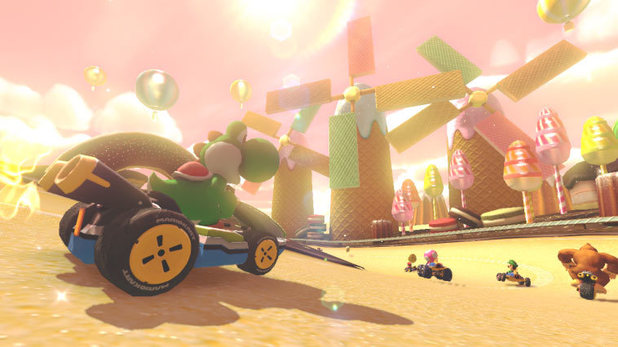 'Mario Kart 8' screenshot