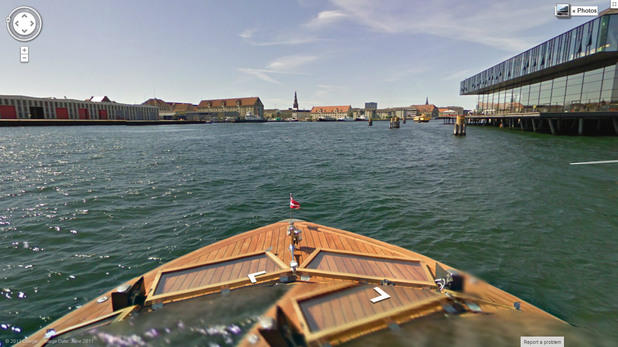 Google Street View in Copenhagen