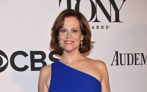 Sigourney Weaver arriving at the 67th Annual Tony Awards in New York