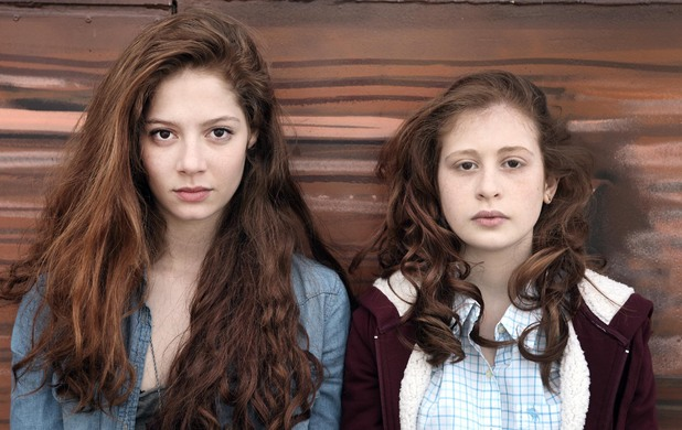 Jenna Thiam as Lena & Yara Pilartz as Camille in 'The Returned'