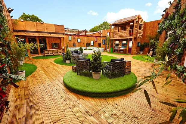 The 'Big Brother: Secrets & Lies' house: The garden