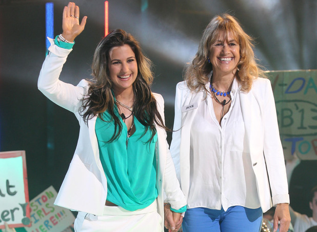 Jackie and Charlie Travers enter the Big Brother house
