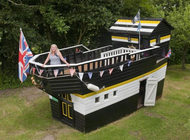 'Best Normal Shed': Queen Emma Galleon