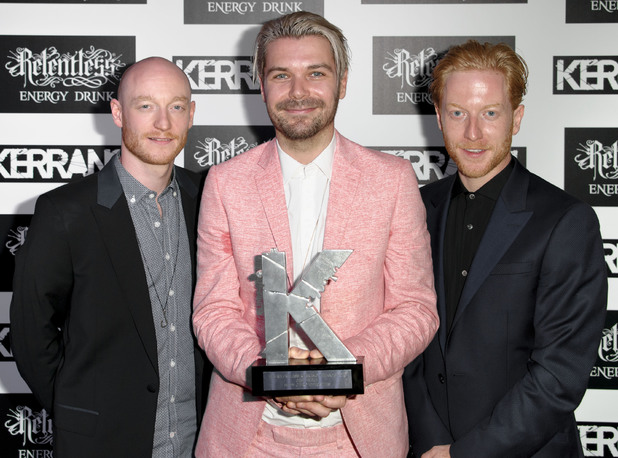 Kerrang! Awards 2013 - Biffy Clyro