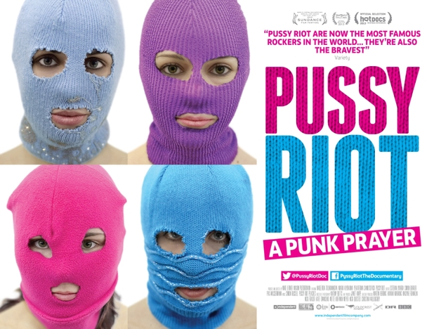 Pussy Riot: A Punk Prayer movie poster
