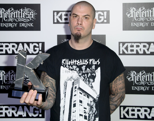 Kerrang! Awards 2013 - Philip Anselmo, formerly of Pantera