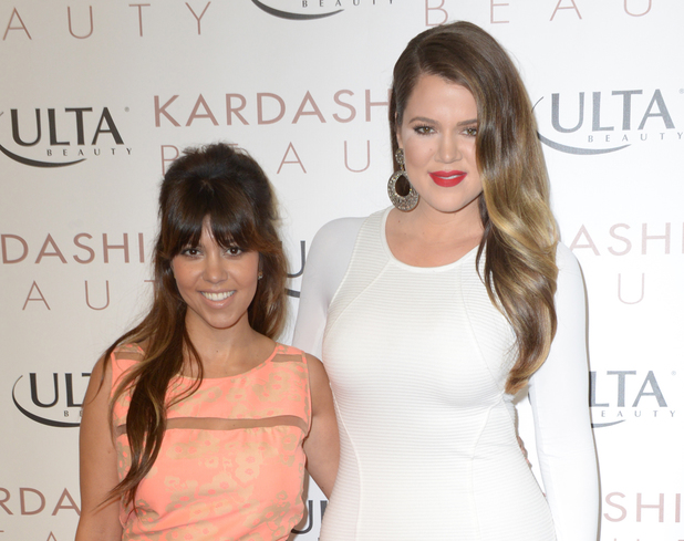Kourtney Kardashian, Khloe Kardashian, ULTA Beauty in Huntington Beach, 'Kardashian Beauty'
