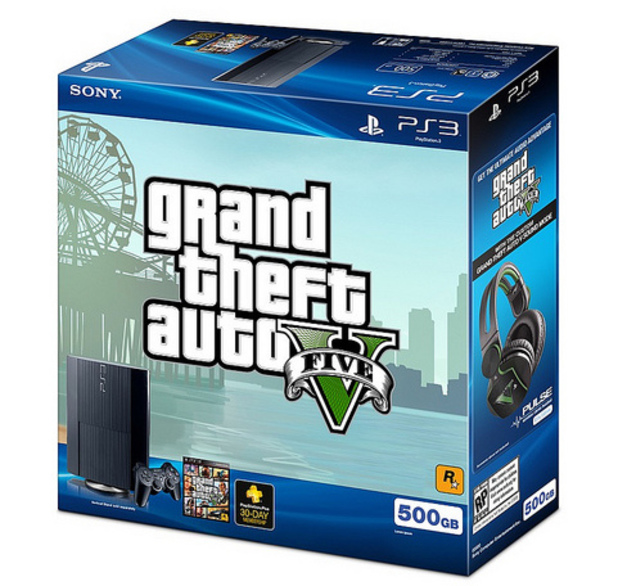 'Grand Theft Auto 5' bundle packaging