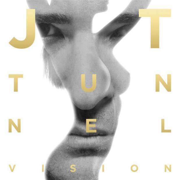 Justin Timberlake 'Tunnel Vision' single artwork.