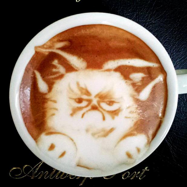 Coffee art by Kazuki Yamamoto