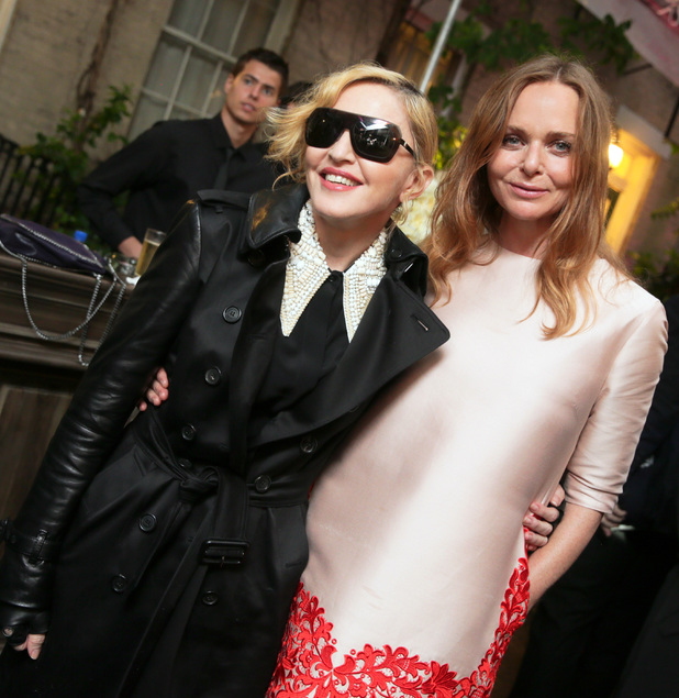 Madonna and Stella McCartney