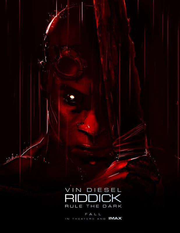 Vin Diesel posts Riddick poster on Facebook