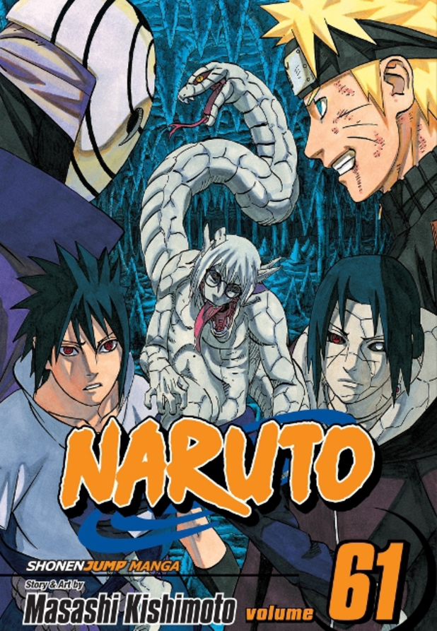 'Naruto' Volume 61 cover artwork