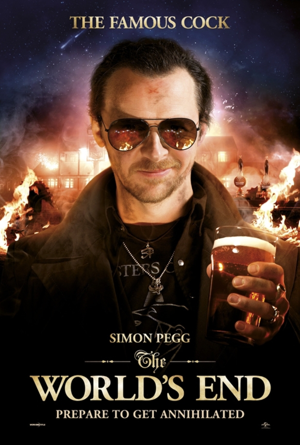 The World's End character posters