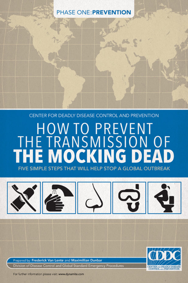 'The Mocking Dead' #1 artwork