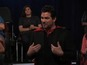 Dean Cain learns of Man of Steel - video