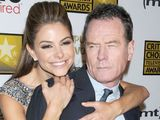 Maria Menounos and Bryan Cranston at the 2013 Critics' Choice Television Awards, Los Angeles