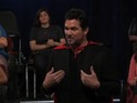 The actor pokes fun at his Superman past in Jimmy Kimmel Live sketch.