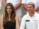 The actress says she is still in touch with Warne's family.